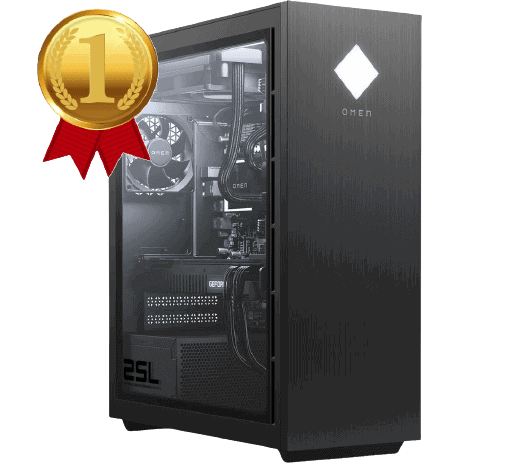 hp omen 25l gaming pc removebg preview - Cel mai bun PC de Gaming în 2021