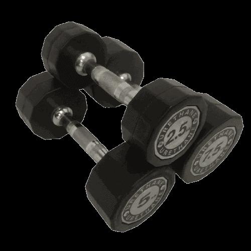 gantere poliuretannnn - Echipament pentru Sală de fitness Acasă
