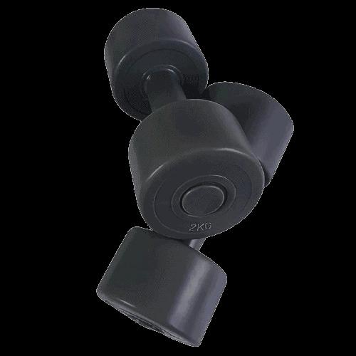 set gantere 2x2 kg removebg preview - Echipament pentru Sală de fitness Acasă