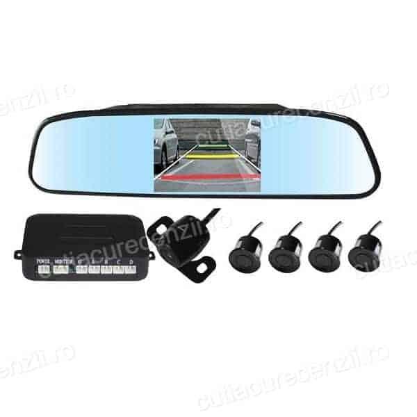 oglinda cu camera video si senzori de parcare - Oglindă retrovizoare cu cameră   Top 3
